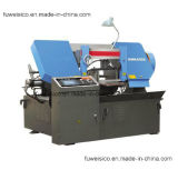 Sharp Cut Brand-H-280-CNC Band Saw Machine for Stainless Steel Bar Cutting.