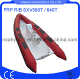 Fiberglass Rib Boat Sxv580t / 640t with Inflatable Hypalon Tube