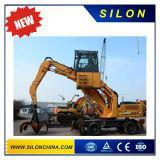 Silon Brand 24t Mini Wheel Excavator with Handling Scrap
