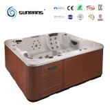 Luxury Fashion Small Whirlpool Massage Rop-in Hot Tub with Seat