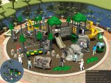 Kaiqi Forest Themed Obstacle Course and Children′s Adventure Playground Set (Best Seller) (KQ50013A)