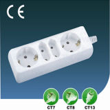 10A/13A European Style Four Way Extension Power Socket