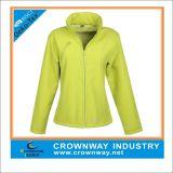 Womens Fashion Windproof Softshell Jacket with Fleece Padding