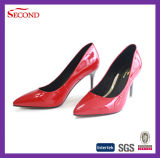 High Quality Sharp Pointed Women Lady Shoes