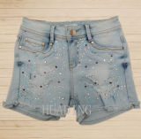 2016 Wholesale China High Quality Fashion Summer Denim Ladies Short Jeans Pant Hdlj0059