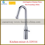 Chrome Deck Mounted Kitchen Water Mixer
