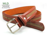 Classic and Basic Man Belt with Split Leather Linning M549