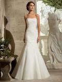 Custom Made off-Shoulder Lace Mermaid Wedding Bridal Dress