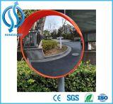 Outdoor 30cm to 120cm Unbreakable Orange Traffic Convex Mirror