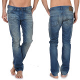 High Quality 100%Cotton Men′s Fashion Jeans Pants