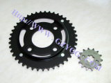 Yog Motorcycle Spare Parts Chain and Sprockets Kit Complete Racing off Road Titan 45 Steel