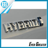 3D UV Resistant Custom Metal Emblem for Cars with ISO/Ts16949 Certified
