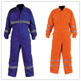 High Quality Safety Reflective Coveralls with En471/ANSI/Isea