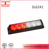 Screw Mounting Red and White Tir 6W LED Headlight (SL6241)