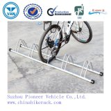 Easy Assemble Floor Mounted Bike Rack for Indoor or Outdoor