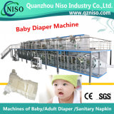 High Speed Elastic T Shape Diaper Production Line Manufacture (YNK500-SV)