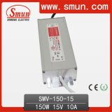 150W 15VDC 10A LED Driver IP67 Waterproof Power Supply