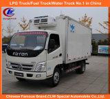 Foton Mini Frozen Food Transport Truck 3tons