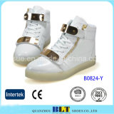 Fashion Light LED Casual Shoes with Buckle