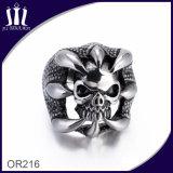 Custom Design Men′s Retro Skull Ring