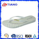 Summer Outdoor PVC Beach Slipper for Lady (TNK10007)