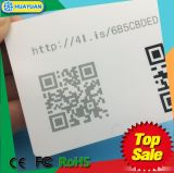 NTAG213 PVC Loyalty Gift Business Membership Cards with Qr Barcode