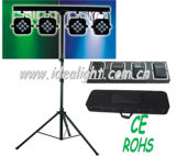 36PCS Tri-RGB 3W LED Flat PAR Light Set