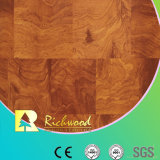 Household 8.3mm E1 Embossed Walnut Waxed Edge Laminated Floor