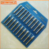 20PCS Diamond Burr Point Set, Diamond Stone Carving Tools