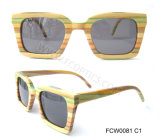 Colorful Real Wooden Fashion Sunglasses