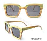 Colorful Wooden OEM Fashion Sunglasses Meet UV400 Standard