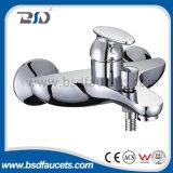 Wall Mounted Brass Bathroom Bathtub Faucet