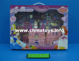 Beauty Castle, Girl Set. Doll House with Music (217125)