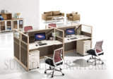 Office Partition Workstation for 4 People (SZ-WSA004)