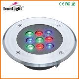 Mini 9*1W RGB LED Garden Light for Outdoor Lighting