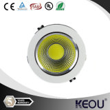 Warm/Nature/Cool White COB LED Downlighters, White/Black/Silver/Golden LED Downlights