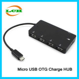 OTG Hub Micro USB to 4 USB Charger Adapter