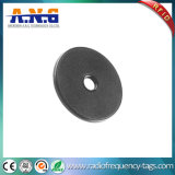 Wireless Black RFID Laundry Tag Contactless Support Readable / Writeable