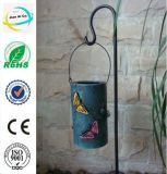 Metal Garden and Home Decoration Solar Power Light Cage Crafts