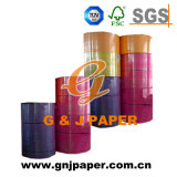 100% Virgin Wood Pulp Paper 100GSM Colored Offset Paper