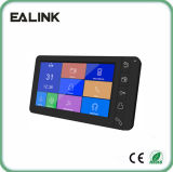 7′′ Color Touch Buttons Video Intercom with Memory Doorphone Interphone