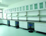 C-Frame Wood Lab Furniture with Wall Mounted Cabinet (JH-WF011)