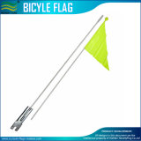Bicycle Safety Flag 72in Orange 2-Piece Bike Axle Mount High Visibility