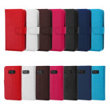 2 in 1 PU Card Slots S8 Leather Phone Case for Samsung S8 8edge Plus