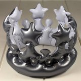 PVC Inflatable Silver Crown for Party