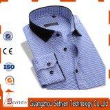 Latest Design 100% Cotton Formal Full Sleeve Men′s Dress Shirt