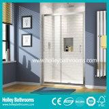 Excellent Rectangle Shower Sliding Cabin with Aluminium Alloy Frame (SE909C)