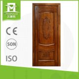 China Suppliers Making Exterior Single Wood Door for Decoration Homes