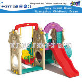 Kids Slide Outdoor Playsets Plastic Playhouse for Primary School (HF-20403)