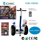 Auto Electric Chariot Electric Scooter 2 Wheel Intelligent Cruise for Security Patrol